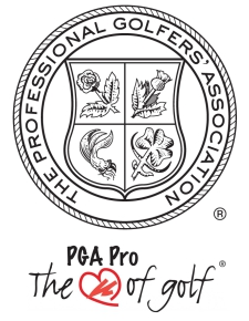 pga crest and heart